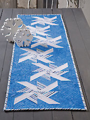 EXCLUSIVELY ANNIE'S QUILT DESIGNS: Drifting Snow Table Runner Pattern