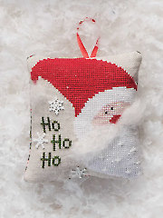 Ho Ho Ho Cross Stitch Pattern