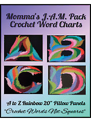 "A to Z Rainbow 20"" Pillow Panels"