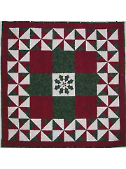 Holly Wreath With a Twist Quilt Pattern