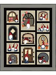 Gno Buddies Quilt Pattern