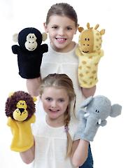 9027: Hand Puppets Knit Pattern