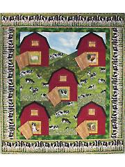 Hillside Barns & Pastures Quilt Pattern