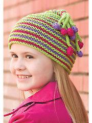 Bodacious Bobble Hat Knit Pattern