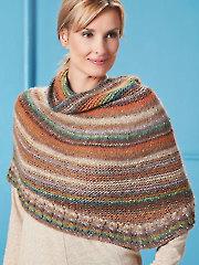 Bisqueware Poncho Knit Pattern