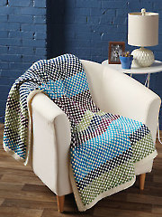 Color Theory Throw Knit Pattern