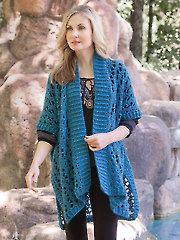 Patagonia Poncho Crochet Pattern