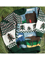 Holiday Party Sweater Knit Pattern