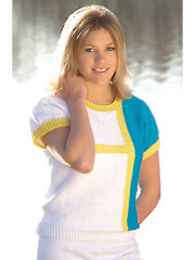 Summer Tea Top Knit Pattern