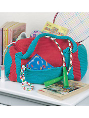 Duffle Bright Carry-All Knit Pattern