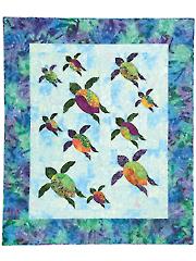 Turtle Trails Quilt Pattern
