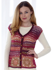 4764: Cardigan & Accessories Crochet Pattern
