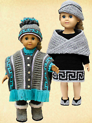 "Stylish Fashions for 18"" Dolls"
