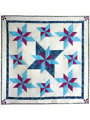 Stars Among Us Quilt Pattern