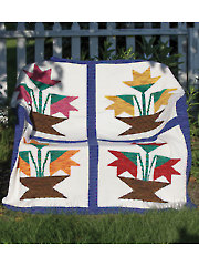 Jan's Garden Afghan Knit Pattern