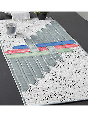 Picket Fence Table Runner Pattern