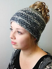 Easy Messy Bun Hat