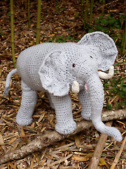 Safari Elephant Crochet Pattern