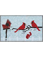 Cardinals N Mittens Quilt Pattern