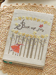 Book of Joy Cross Stitch Pattern