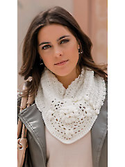 Chrysanthemum Cowl Crochet Pattern