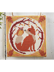 Fall Fox Cross Stitch Pattern
