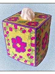 Flowering Vine Tissue Topper