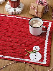 Frosty Friend Place Mat