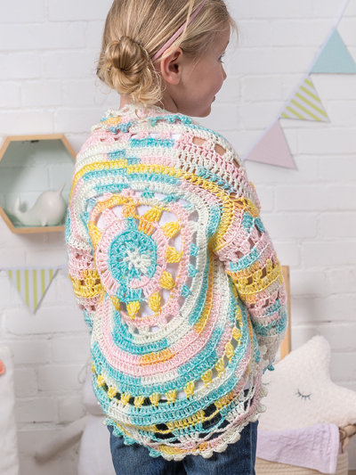 ANNIE'S SIGNATURE DESIGNS: Infant Circle Jacket Crochet Pattern