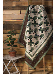 EXCLUSIVELY ANNIE'S QUILT DESIGN: Pine Tree Crossing Quilt Pattern