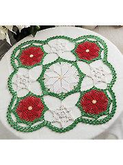 Winter Cheer Centerpiece Crochet Pattern