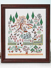 Woodland Fantasy Cross Stitch Pattern