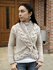 Opposite Pole Cardigan Knit Pattern