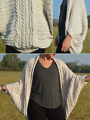Free Bird Cocoon Knit Pattern