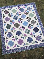 Modern Greek Cross Quilt Pattern