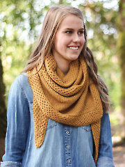 Honey Trail Shawl Knit Pattern