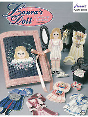 Laura's Doll in Plastic Canvas