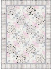 Snowball Chain Quilt Pattern