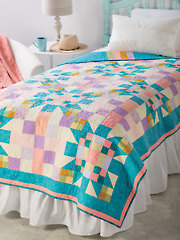 EXCLUSIVELY ANNIE'S QUILT DESIGNS: Scrappy Explosion Quilt Pattern