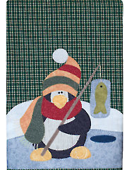 Polar Penguin Tea Towel Pattern