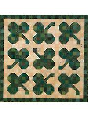 Shamrocks Quilt Pattern