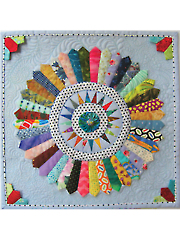 Scrappy Dresdens Quilt Pattern