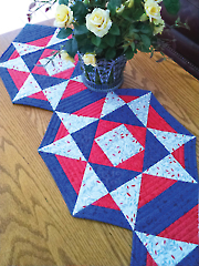 Patriot Stars Table Ensemble Pattern
