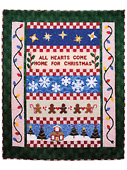 All Hearts Come Home for Christmas Quilt Pattern