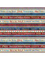 Stars & Stripes VI Stripe 1 Yard Cut