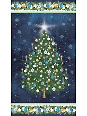 """O Christmas Tree Panel 24"""" x 43"""""""