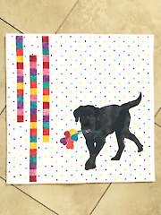 Puppy Love Wall Hanging Pattern