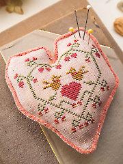 My Heart Is True Cross Stitch Pattern
