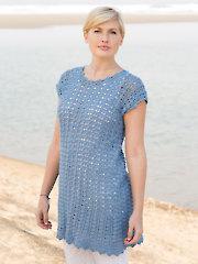 ANNIE'S SIGNATURE DESIGNS: Deep Sea Tunic Crochet Pattern