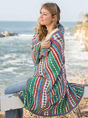 ANNIE'S SIGNATURE DESIGNS: Rhapsody Afghan  Crochet Pattern